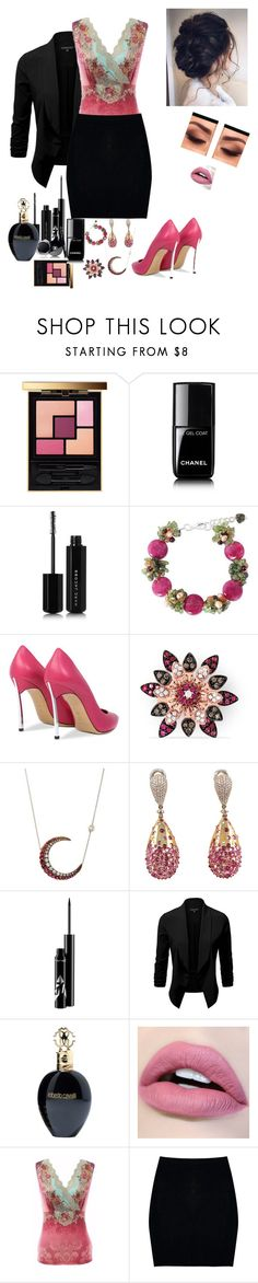"""""""Women's Style"""" by jan45 ❤ liked on Polyvore featuring Yves Saint Laurent, Chanel, Marc Jacobs, NOVICA, Casadei, Effy Jewelry, Renee Lewis, Jona, Roberto Cavalli and Boohoo"""
