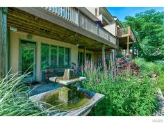 Beautiful gardening and yard work done for this home! 1508 Sommet Place, Saint Louis, MO.