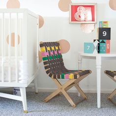 Playful Kids Chair With Creative Color