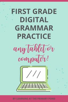 This set of digital activities for first grade grammar skills will keep your students engaged while distance learning. Grammar Games, Grammar Practice, Grammar Skills, Grammar Activities, Decoding Strategies, Comprehension Strategies, First Grade Reading, Writing Workshop, Second Grade