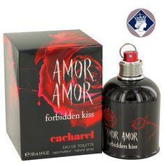 Cacharel Amor Amor Forbidden Kiss 100ml/3.4oz Women EDT Perfume Spray Fragrance