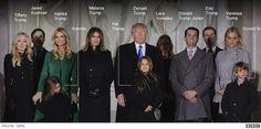 Trump family at Lincoln Memorial