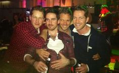 The men of Once Upon a Time