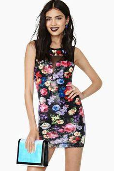 Full Blooom Sequin Dress | Shop Clothes-Dresses at Nasty Gal