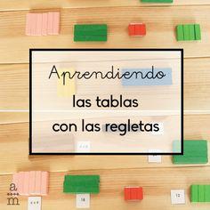 Aprender las tablas con las regletas será entretenido, divertido y eficaz. Descubre el juego que te propongo para que las tablas no sean aburridas.