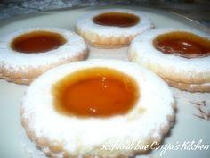 Occhi di bue (ricetta biscotti-ricetta dolce)