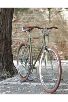 DafneEasy - The GreenMattVintage - Dafne Fixed Vintage Bikes, Retro Vintage, Logo Velo, Bici Fixed, Retro Bicycle, Classic Bikes, Bike Design, Motorcycles, Cars