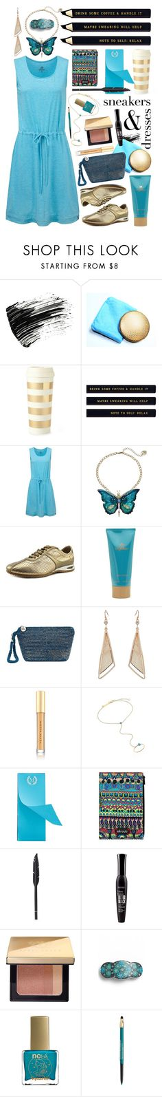 """Sporty Chic"" by joy2thahworld ❤ liked on Polyvore featuring Marc Jacobs, Kate Spade, Betsey Johnson, Cole Haan, byblos, The Sak, GUESS, Kevyn Aucoin, ZoÃ« Chicco and Mark & Graham"