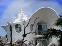 Conch Shell House : Architect - Octavio Ocampo