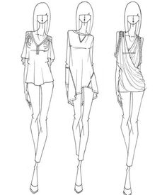 fashion illustration | fashion design sketch | Pinterest