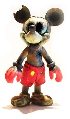 MICKEY MOUSE ZOMBIE - Makes me think of BOTh my sons: Brian, the Firefighter Brett, the Nuclear Engineer. Ya think???