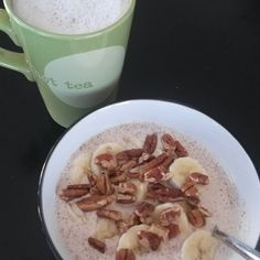 Banana Nut Steel Cut Overnight Oats 21 day fix approved