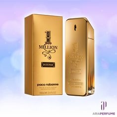 PACO 1 MILLION INTENSE BY PACO RABBANE Get yours on Aria Perfume and save 30% today. Launched in 2013 it is a spicy, woody, oriental scent with top notes of blood mandarin, cardamom, black pepper and saffron. The middle notes are rose absolute, neroli and cinnamon. The base notes are white leather, orris root, patchouli and sandalwood.