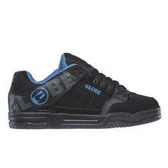 GLOBE Tilt black black blue grosse chaussure de skate 79,00 € #skate #skateboard…