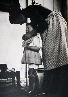 young mother Tasha Tudor
