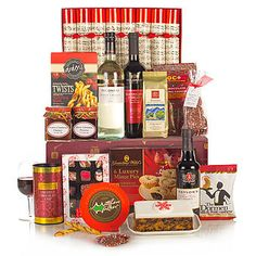 - The Taste of Christmas has always been a favourite hamper with our customers, and this year we're delighted to introduce you to another feast of Christmas flavours to stimulate the senses. Farmhouse Biscuits, Traditional Hampers, Wicker Hamper, Christmas Hamper, Red Colour, Christmas 2014, Prosecco, Cherries, Gifts For Family