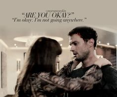 After Charlie Tango has crashed and Christian is reported to be missing 🚁 50 Shades Darker, Fifty Shades Darker Quotes, 50 Shades Freed, 50 Shades Trilogy, Fifty Shades Series, Fifty Shades Movie, Jamie Dornan, Christian Grey, Dakota Johnson