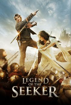 Richard and Kahlan defeat whole armies with nothing but their love... and some wicked sharp weapons.