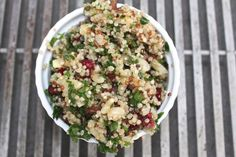 I love a flavorful quinoa salad I can prepare in advance during the summertime. I can serve it up with some grilled veggies and chicken or fish… and dinner is served! My husband, Russ loves … Fodmap Diet, Low Fodmap, Fodmap Recipes, Diet Recipes, Low Acid Recipes, Dairy Free Eggs, Grilled Veggies, Dinner Is Served, Side Dishes Easy