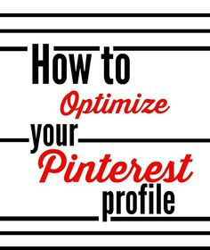 To get the most out of your Pinterest account, it's high time you start treating it like some of your other social media outlets. After all, Pinterest is neck and neck with Facebook and Twitter when it comes to popularity. So why not take ten minutes to get the most out of your Pinterest profile?