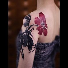Tattoo Artist: Chen Jie 陈洁 - New Tattoo Studio, Beijing