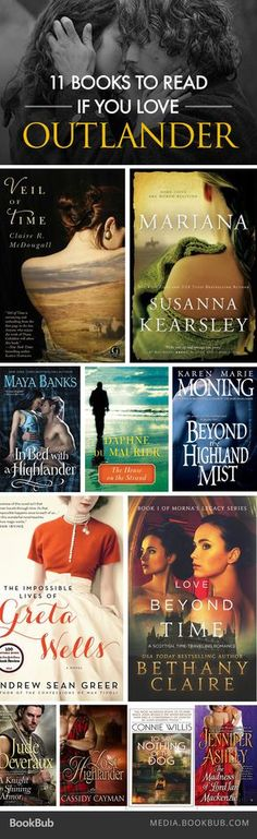 11 books to read if you love Outlander by Diana Gabaldon.
