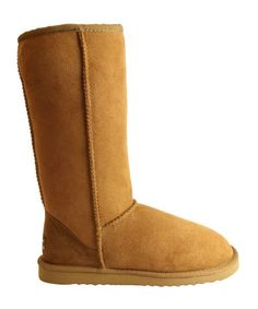 Chocolate Classic Tall ugg boots by Whooga - More Warmth for less