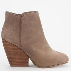 Ecote booties from urban outfitters Suede booties from urban outfitters, size 7.5, brand is ecote. Worn a few time, good condition, signs of wear is on the bottoms. Urban Outfitters Shoes Ankle Boots & Booties