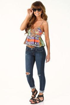 Never Can Say Goodbye Top: Multi #shophopes