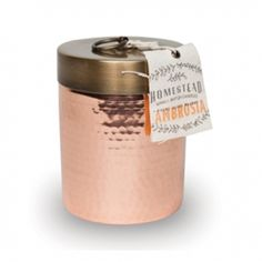 Image of Found Goods Market - Copper Canister Soy Candle