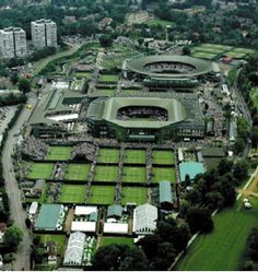 Wimbledon is the home of the All England Lawn Tennis and Croquet Club and the setting for the famous Wimbledon tennis tournament since 1877. It is the only remaining major grass-court tennis venue in the world.  http://www.annabelchaffer.com/