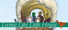 """Just found this new blog and I'm already obsessed!  Living like Laura Ingalls Wilder on a homestead, this lady's motto is """"Making the most with what you have.""""  Love it!"""