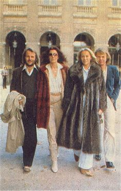 ABBA in the city of lights, Paris, in October 1978