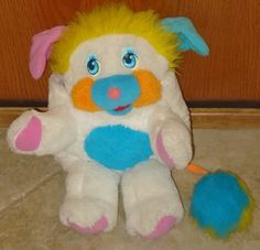 Popples.  I still have a few of these too! Another old school toy that Lydia thinks is great! She especially likes my mini one!