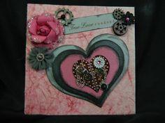 Steampunk Valentine Card- Scrapbook.com