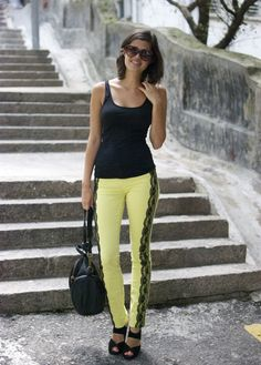 DIY: Update on the colored pants