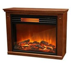 "28"" Petite Foyer Electric Fireplace at Big Lots."