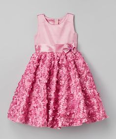 Pink Rosette Dress - Infant, Toddler & Girls