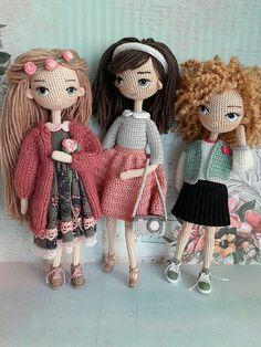 Irresistible Crochet a Doll Ideas. Radiant Crochet a Doll Ideas. Crochet Amigurumi, Crochet Doll Pattern, Amigurumi Patterns, Amigurumi Doll, Doll Patterns, Crochet Beanie, Cute Crochet, Crochet Crafts, Crochet Dolls