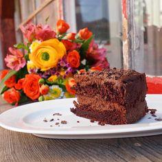 Čokoládový dort s portským vínem