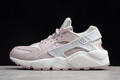 2f885a7e4e13 WMNS Nike Air Huarache Run Light Pink Grey-White 634835-029