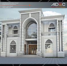 Image result for islamic villa design Spanish Architecture, Islamic Architecture, Architecture Plan, Classic House Design, Modern House Design, Villa Plan, Villa Design, Exterior Design, Mosque