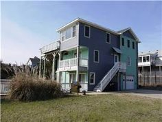 With two living areas this Duck, NC vacation home is perfect for large families. The family will love soaking in the private pool and hot tub after a long day at the beach. A hop,skip and jump to the beach and a quick walk to the Village of Duck. http://www.sunrealtync.com/house/169-a