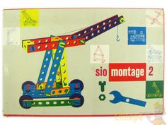 Sio montage: wooden toys in the sixties