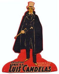 """Afiche de """"Luis Candelas"""" (1926)  Realización: Armand Guerra"""