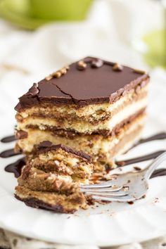 This Paleo Opera Cake will have you spend quite a chunk of time in the kitchen, but it's so good, you won't regret one single second spent working on it. Chocolate Glaze, Chocolate Recipes, Paleo, Keto, Opera Cake, Against All Grain, Recipe Boards, Sans Gluten, Gluten Free
