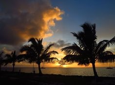Daily Photo – July 28, 2016 Sunset from Settlement Point, Green Turtle Cay, Abaco, Bahamas  Save Save Save