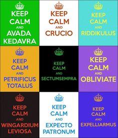 Keep Calm Harry Potter Posters. WANNNNNNTSSSS