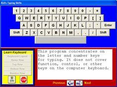KID'S TYPING SKILLS: free online typing curriculum