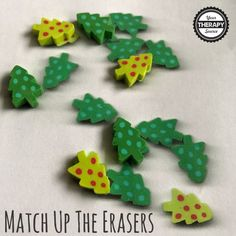 Here are 5 fun ways to play with mini erasers and to encourage fine motor skill development from Your Therapy Source Inc. Visual Perceptual Activities, Fine Motor Skills Development, Task Boxes, Speech And Language, Perception, 5 Ways, Therapy, Play, Mini